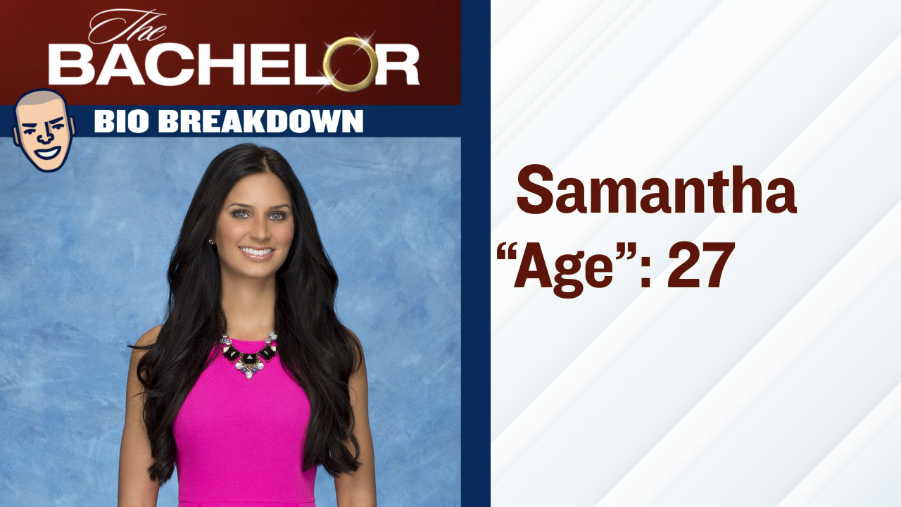 The Bachelor_Samantha