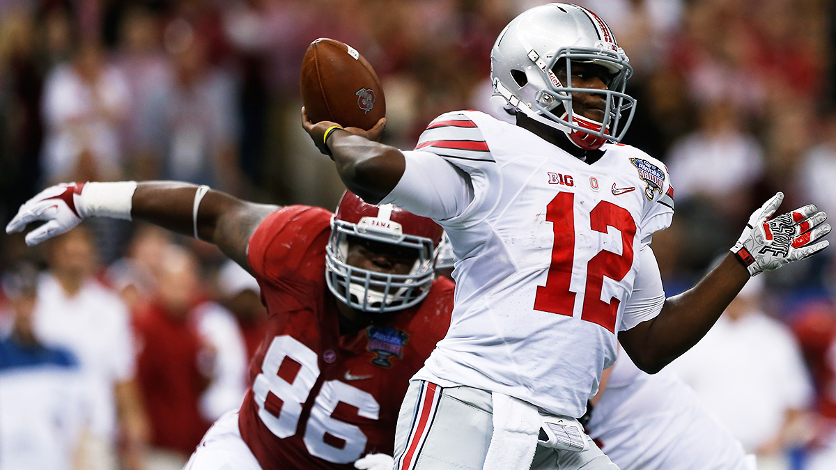 pretty nice 58d15 2f1b5 Instant Classic: Is Enigmatic Ohio State Quarterback Cardale ...