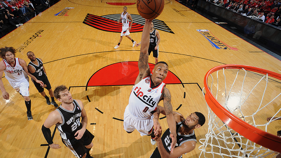 San Antonio Spurs v Portland Trail Blazers - Game Four