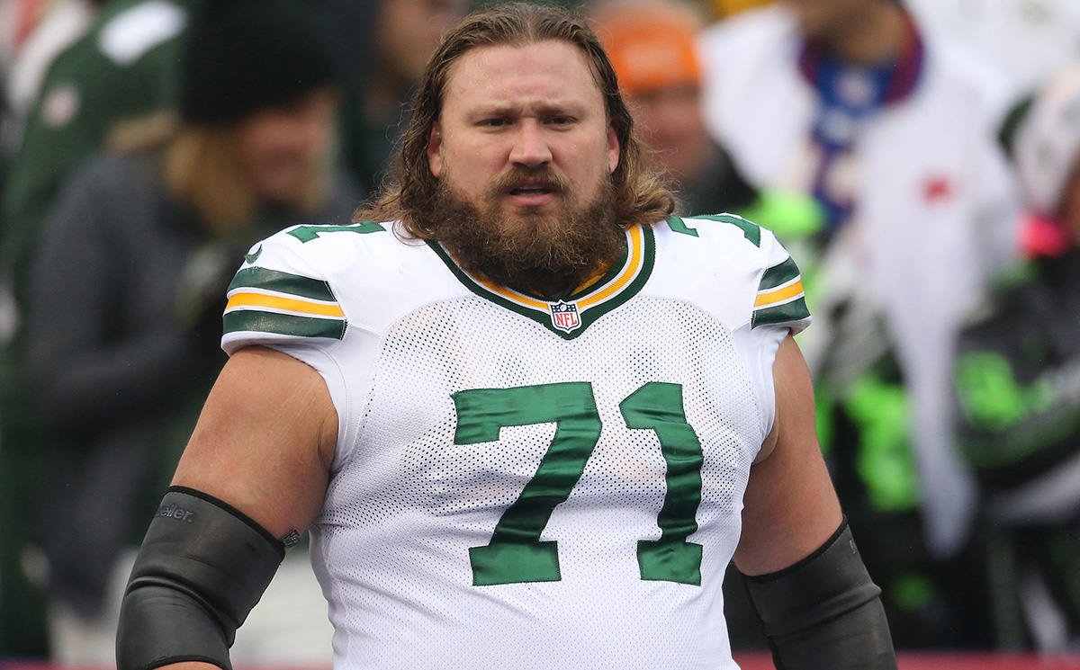 Left guard Josh Sitton