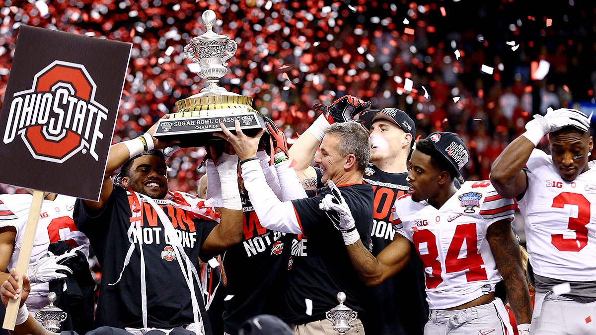 Urban Meyer can carve out a place in history with another national championship win.