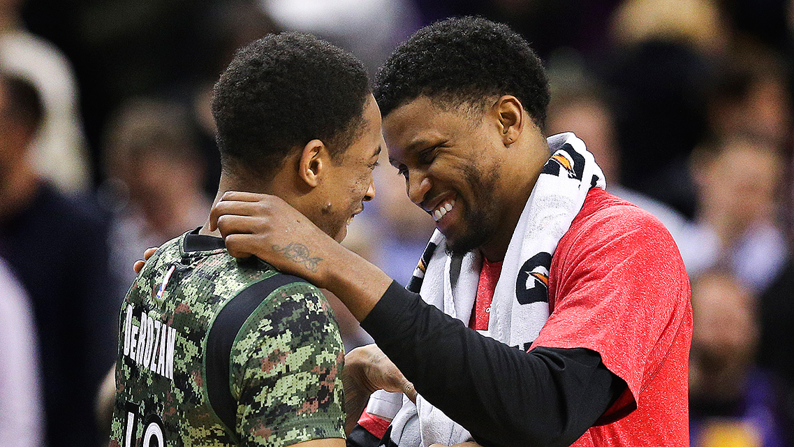 Toronto Raptors took on the Sacramento Kings