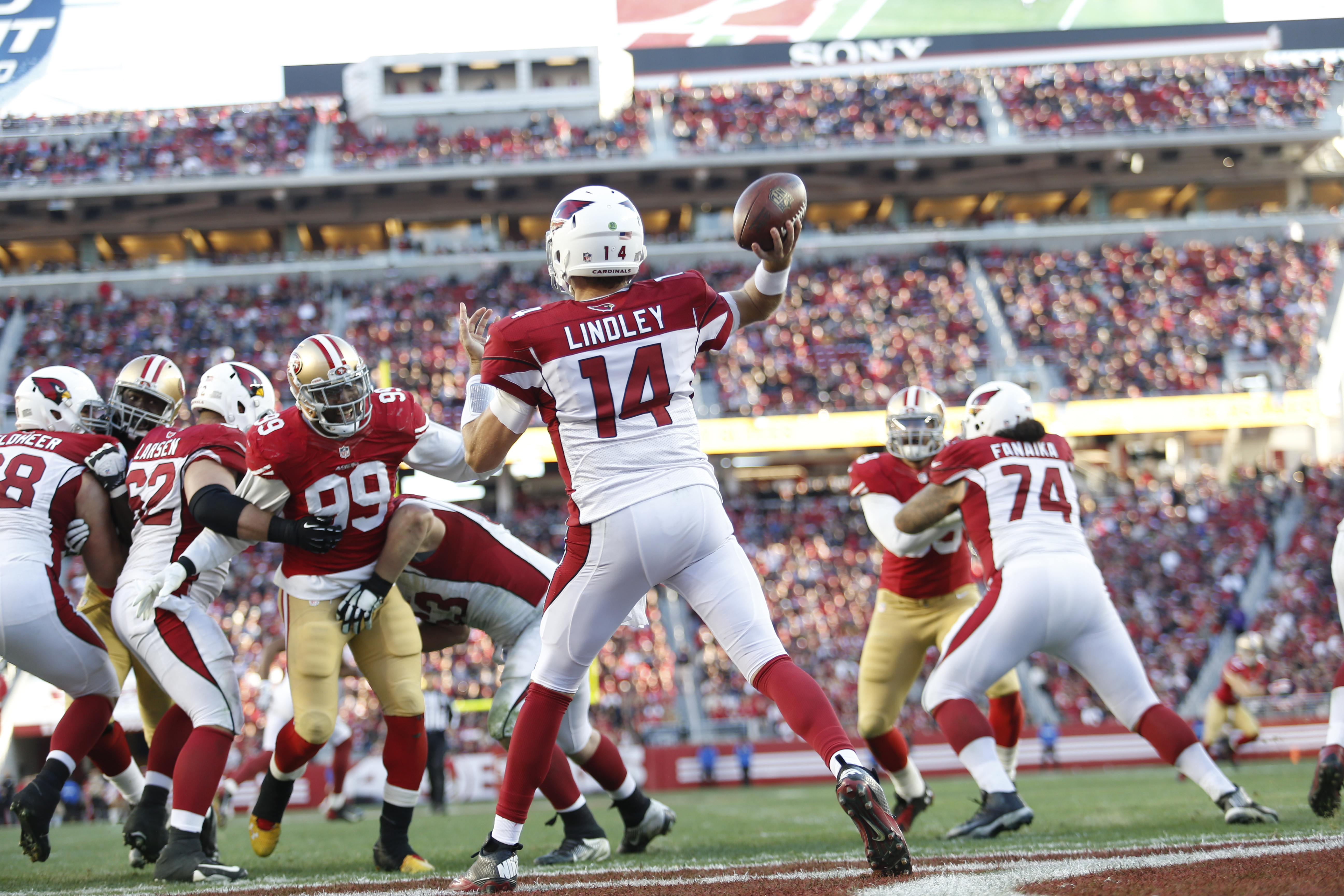 Arizona Cardinals v San Francisco 49ers