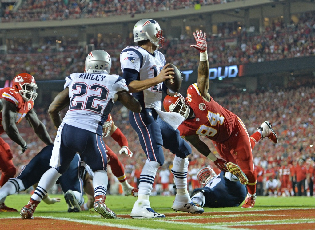 New England Patriots v Kansas City Chiefs