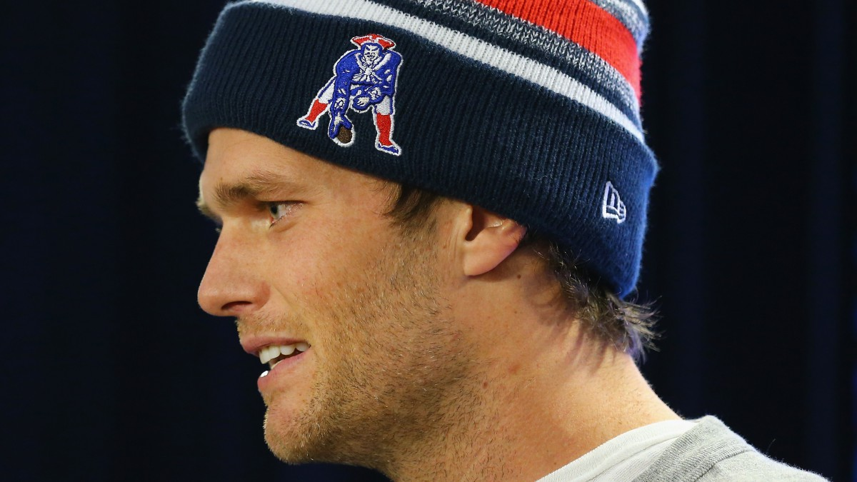 New England Patriots Quarterback Tom Brady - Press Conference