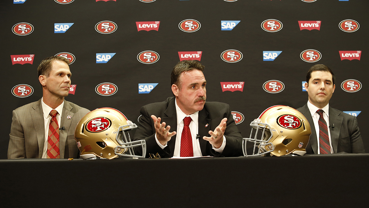 San Francisco 49ers Introduce Jim Tomsula
