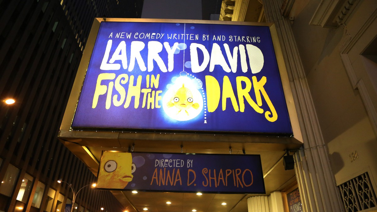 """Fish In The Dark"" Marquee Unveiling"