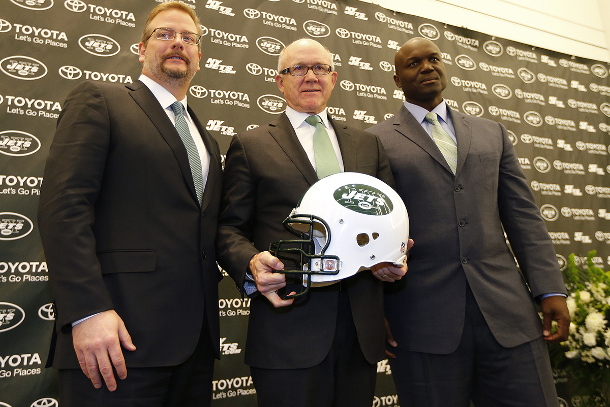 New York Jets Introduce General Manager Mike Maccagnan and Head Coach Todd Bowles