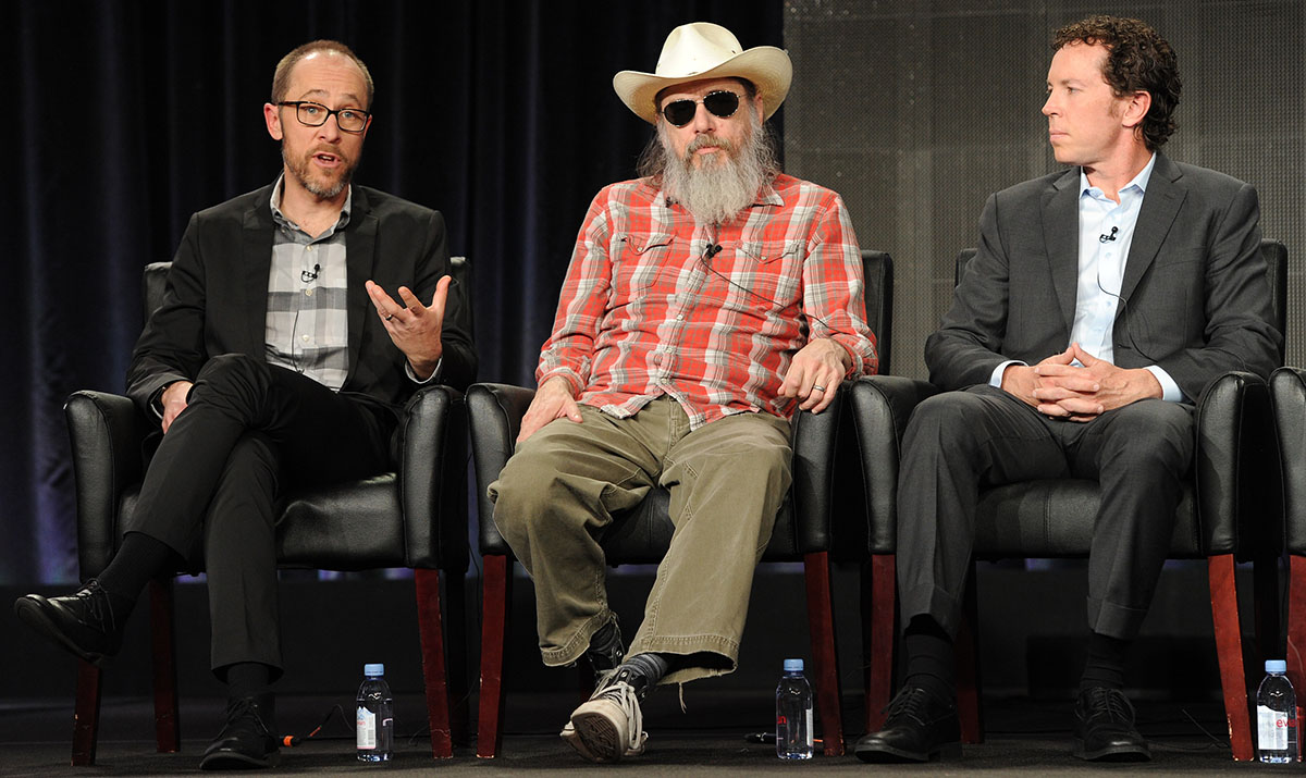 Ben Wexler, Larry Charles, and executive producer Matt Nix.
