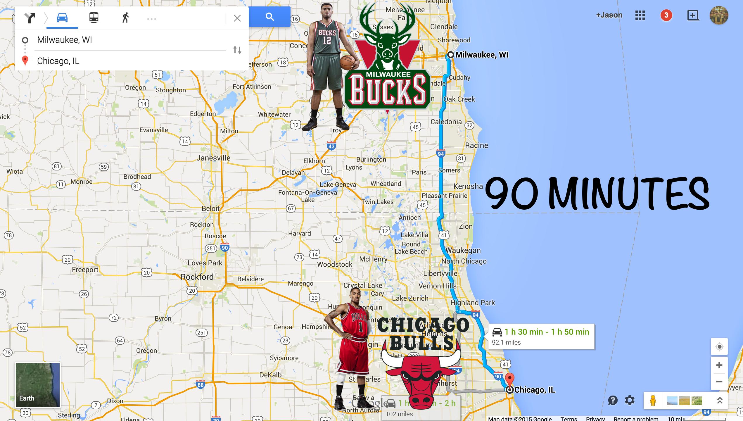 Bulls Bucks