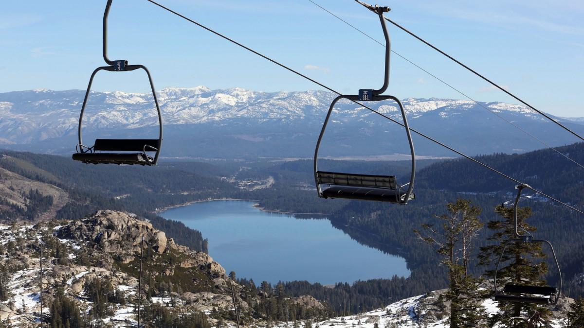 Worst Sierra Snowpack Ski