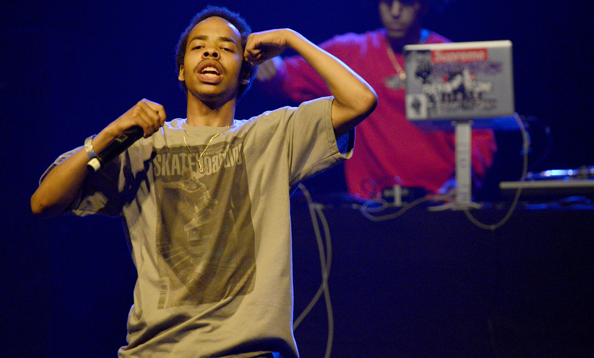 Earl Sweatshirt And Action Bronson Perform At The Warfield Theater