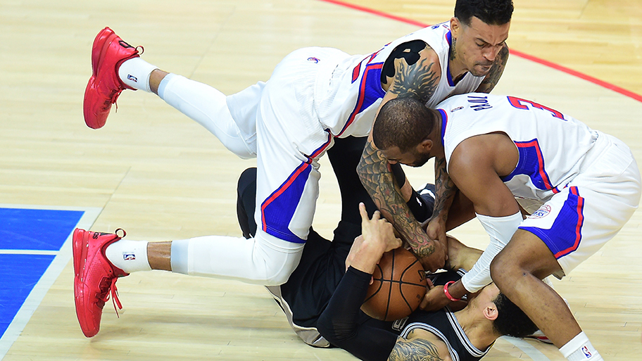BASKET-NBA-PLAYOFFS-SPURS-CLIPPERS