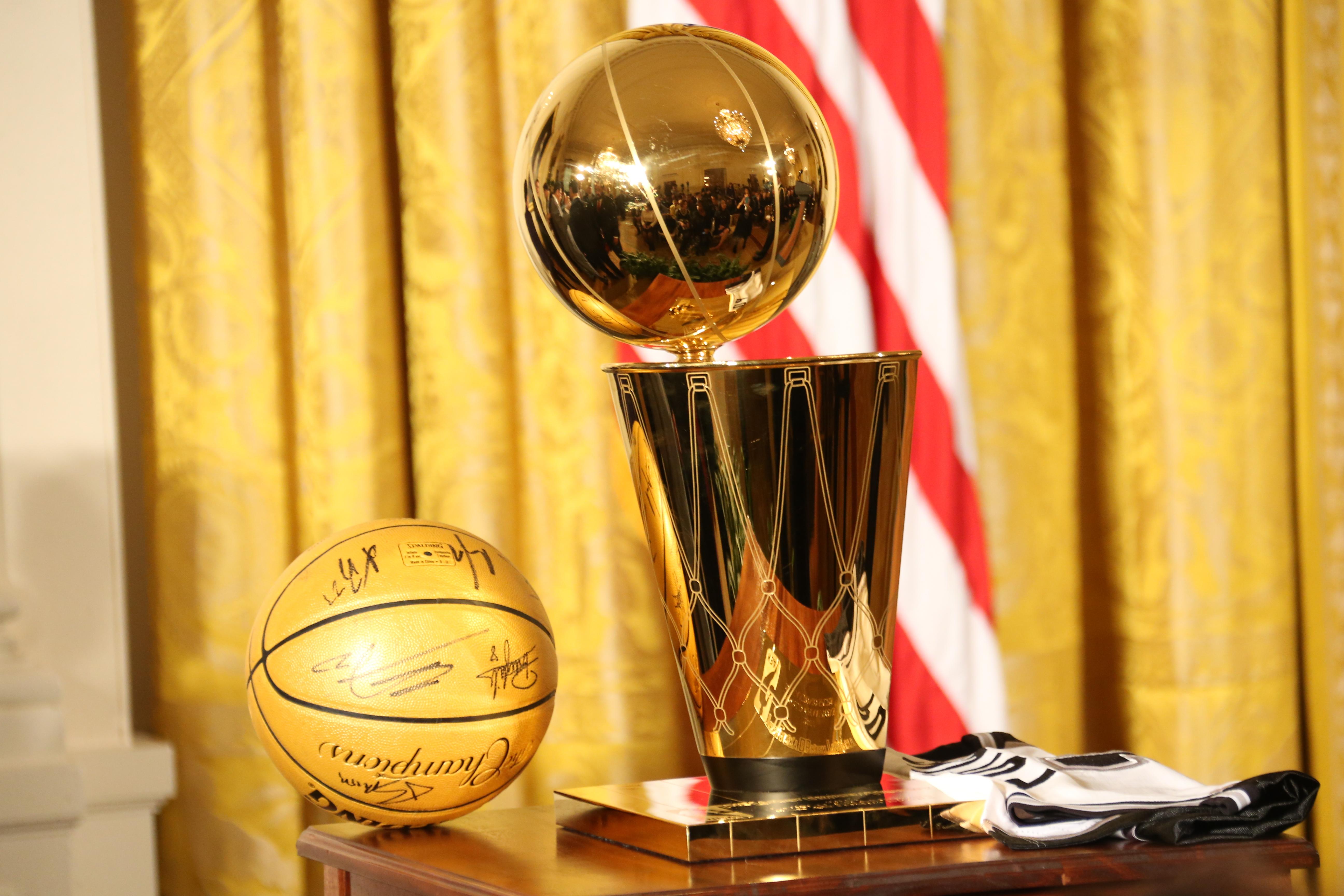 San Antonio Spurs White House Visit