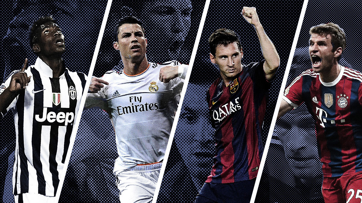 Style Fights: How Real Madrid, Juventus, Barcelona, and