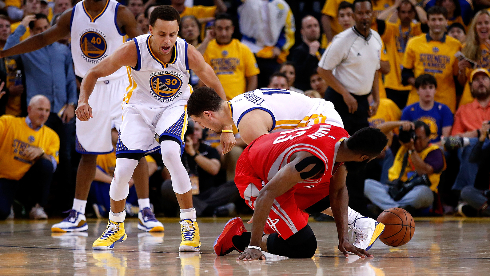 Houston Rockets v Golden State Warriors - Game Two