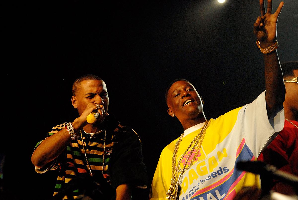 Foxx and Lil Boosie in 2007.