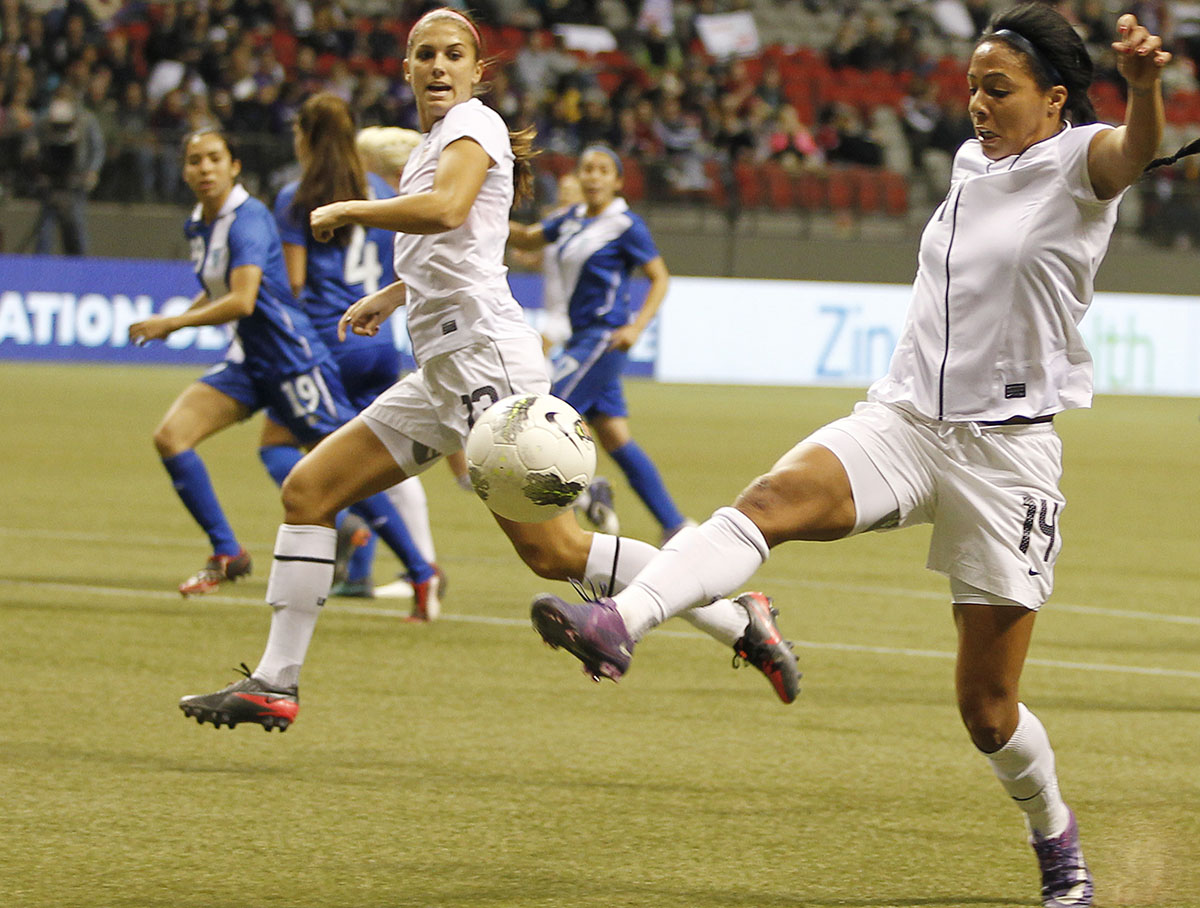 2012 CONCACAF Women's Olympic Qualifying - United States v Guatemala