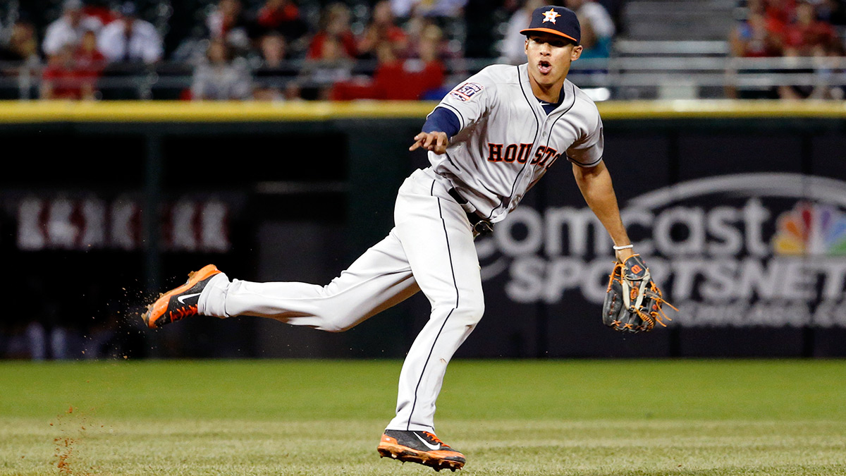 Carlos Correa has been the Astros' best hitter since being called up to The Show.