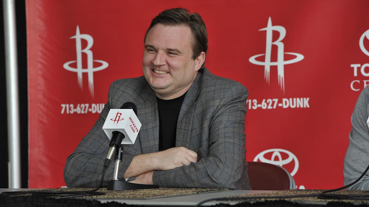 James Harden Houston Rockets press conference