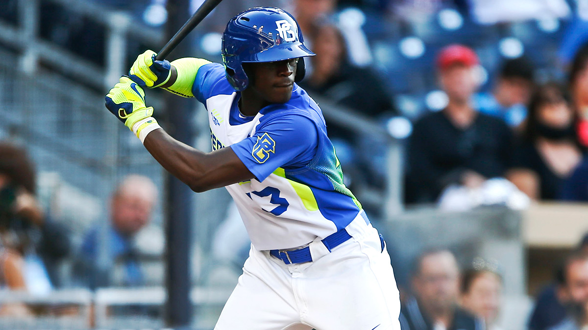 Top-10 talent Daz Cameron, a high school outfielder and the son of MLB vet Mike Cameron, could fall in the draft due to hefty bonus demands. (Lenny Ignelzi/AP Photo)