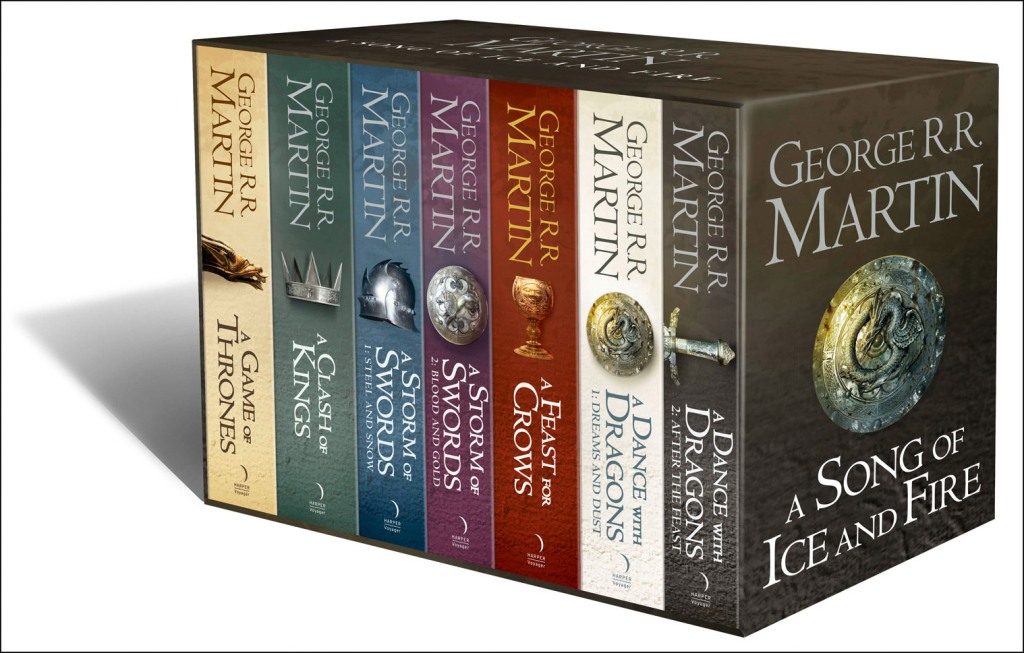 Game of Thrones box set 7 copies(1)