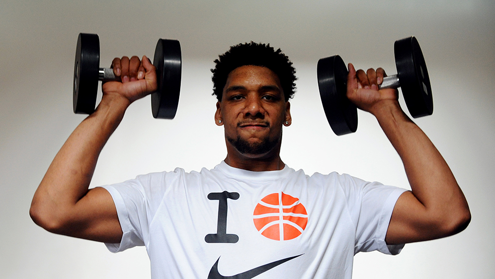 NBA Draft Prospect Jahlil Okafor Workout