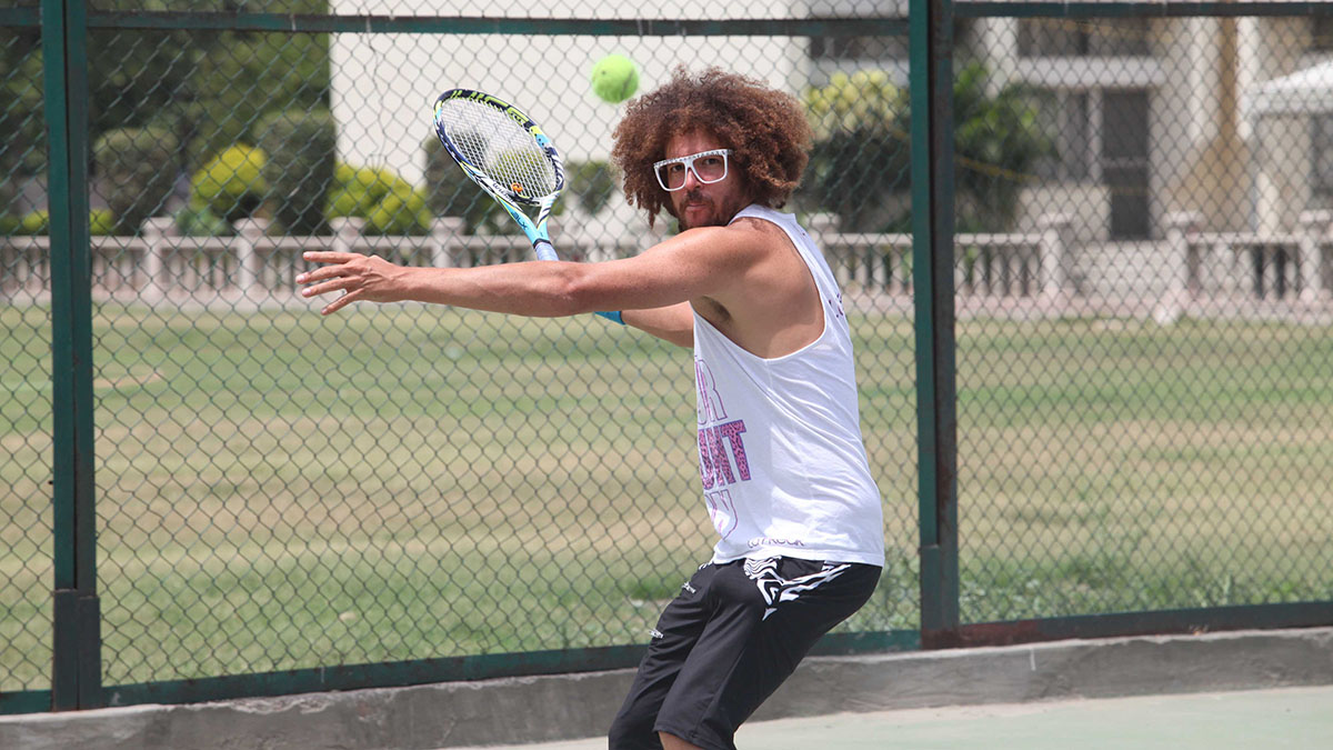 I Lost to Redfoo: A Tennis Story