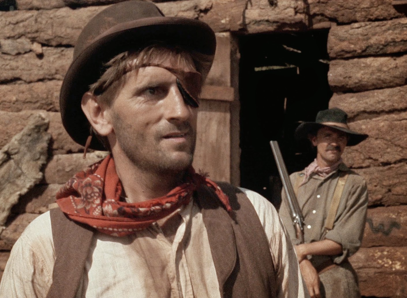 Harry Dean Stanton in Monte Hellman's 1966 film 'Ride the Whirlwind.'