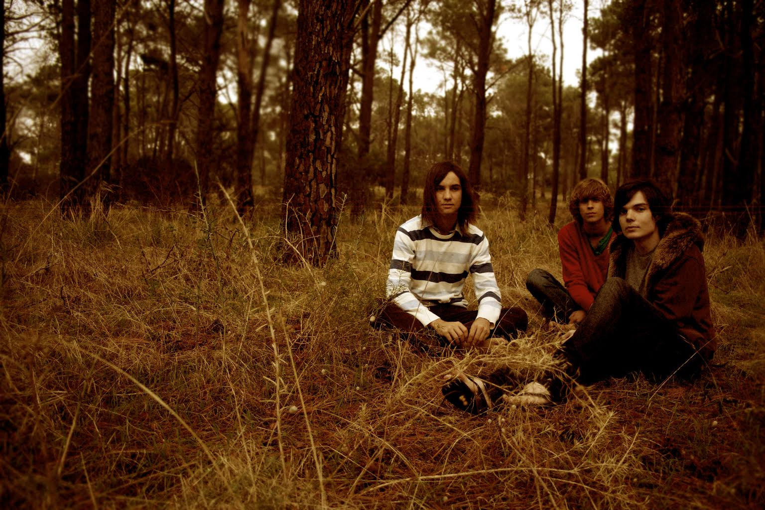 Tame Impala, still a trio, in 2008.