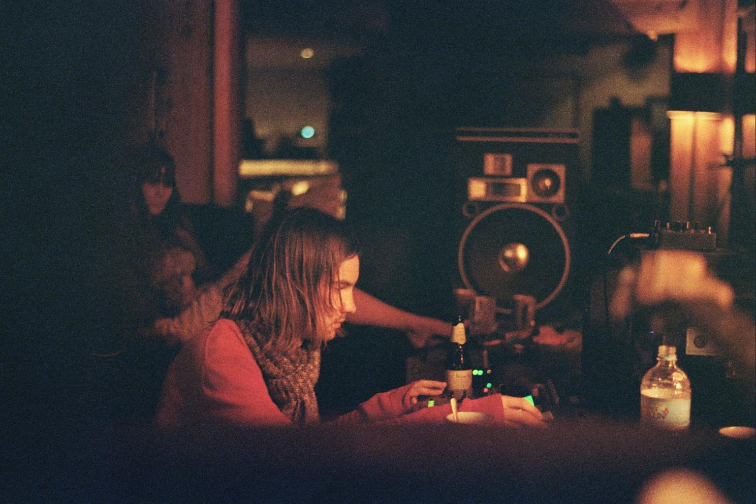 Parker recording in 'Innerspeaker' in 2009.