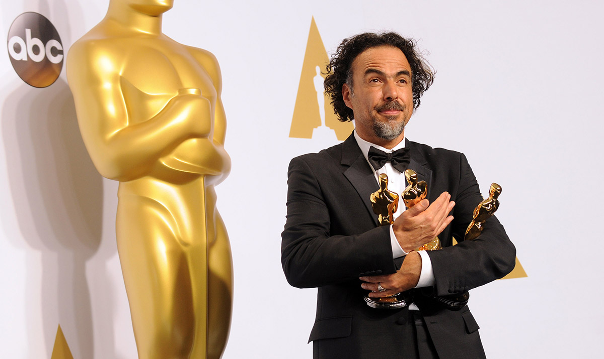 Alejandro G. Inarritu at the Oscars in February.