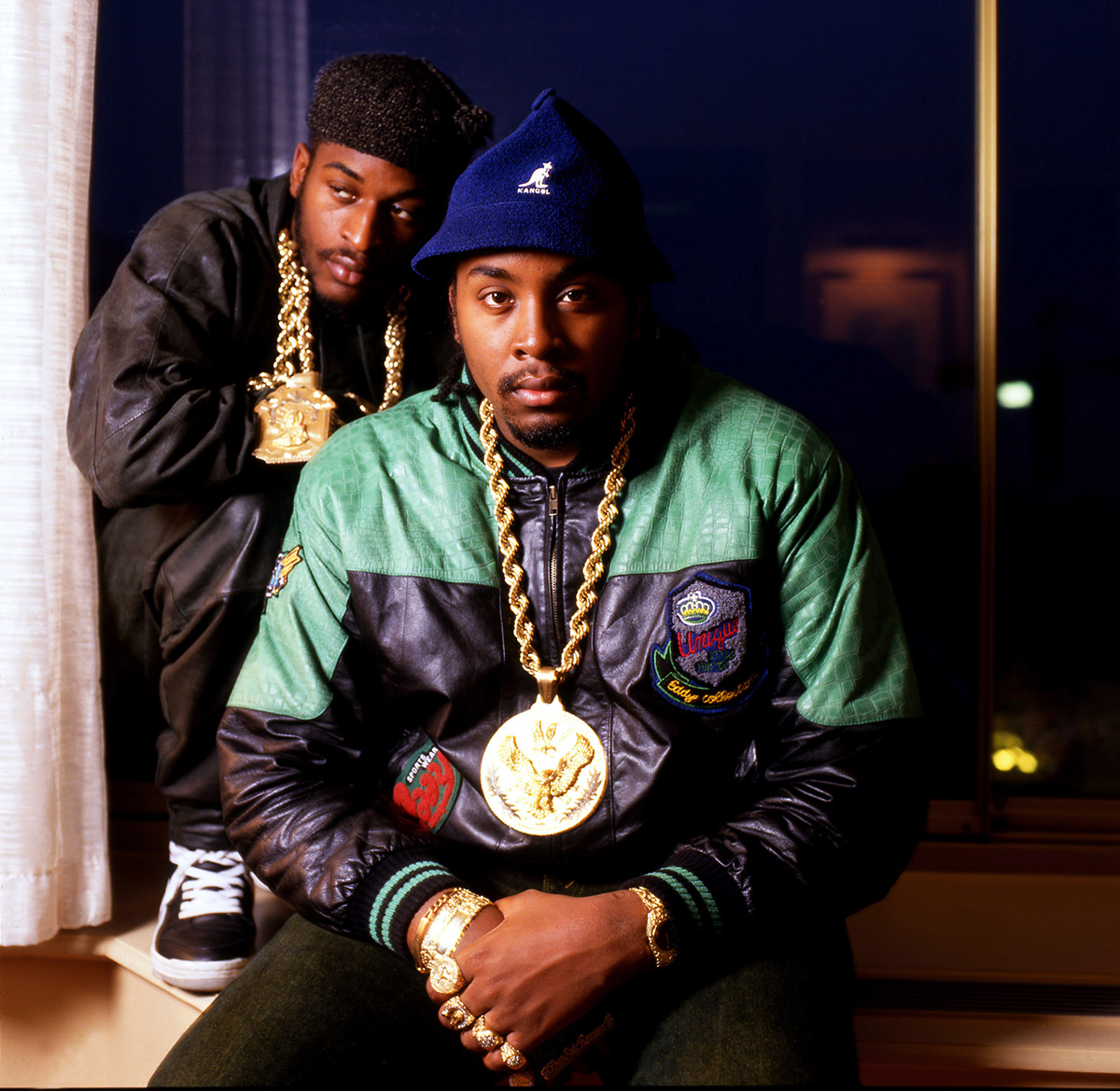 Rakim and Eric B. in 1987.