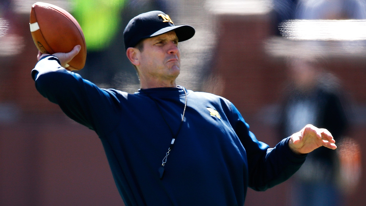 Jim Harbaugh has restored hope among the Michigan faithful before coaching a single Wolverines game.
