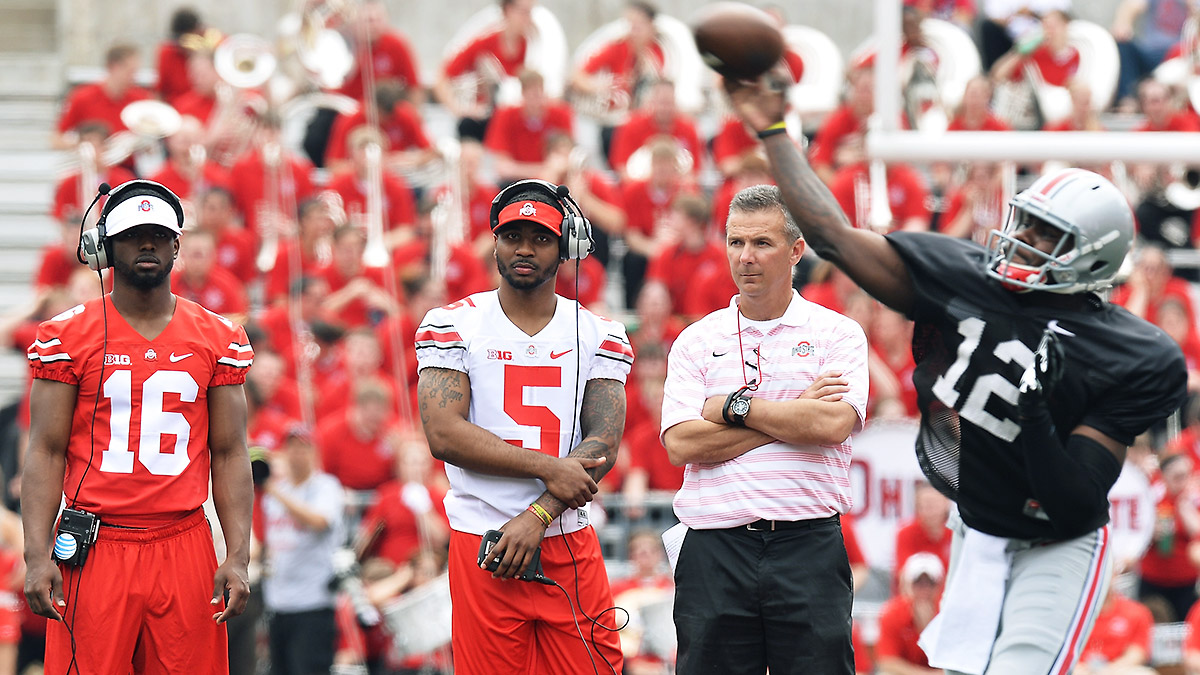 Ohio State is learning that having too many star quarterbacks isn't always a good thing.