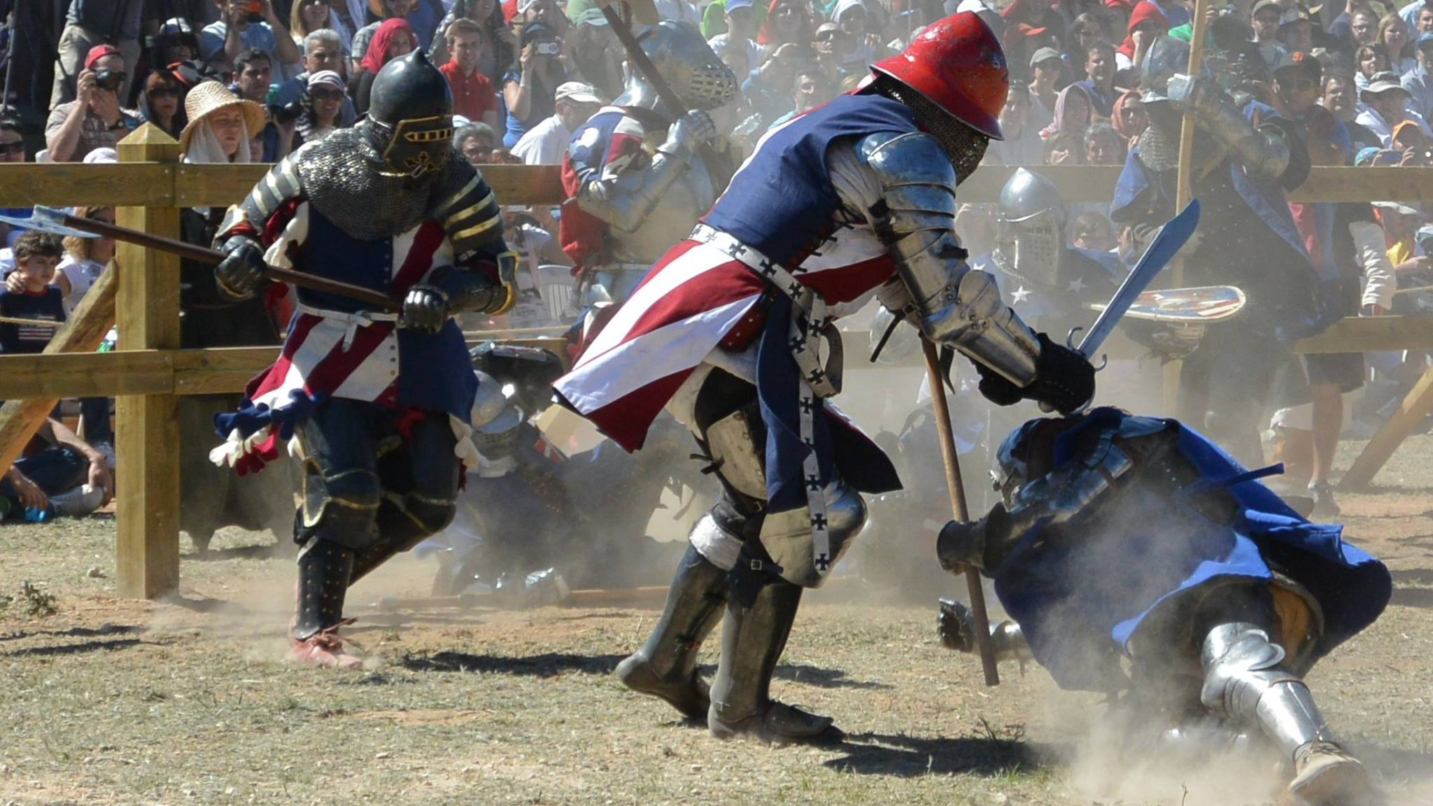 Medieval Times: The Armored Combat League Makes Sport Out of Swords