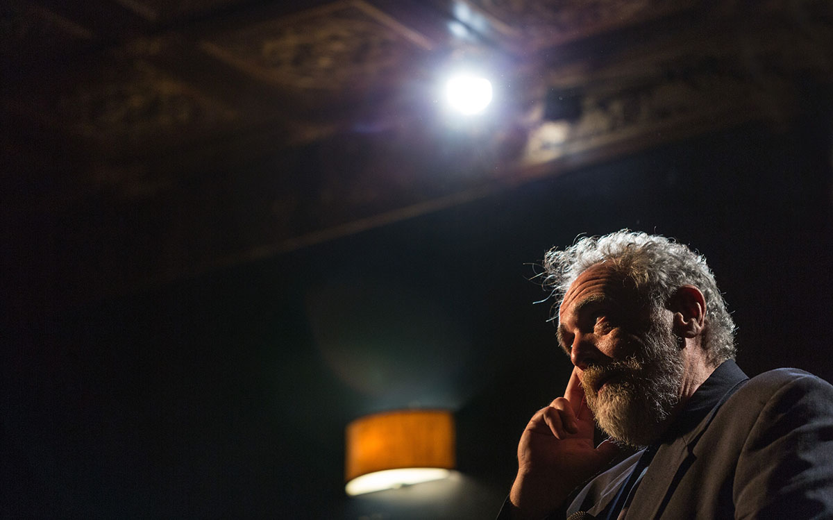 Crimmins in 'Call Me Lucky.'