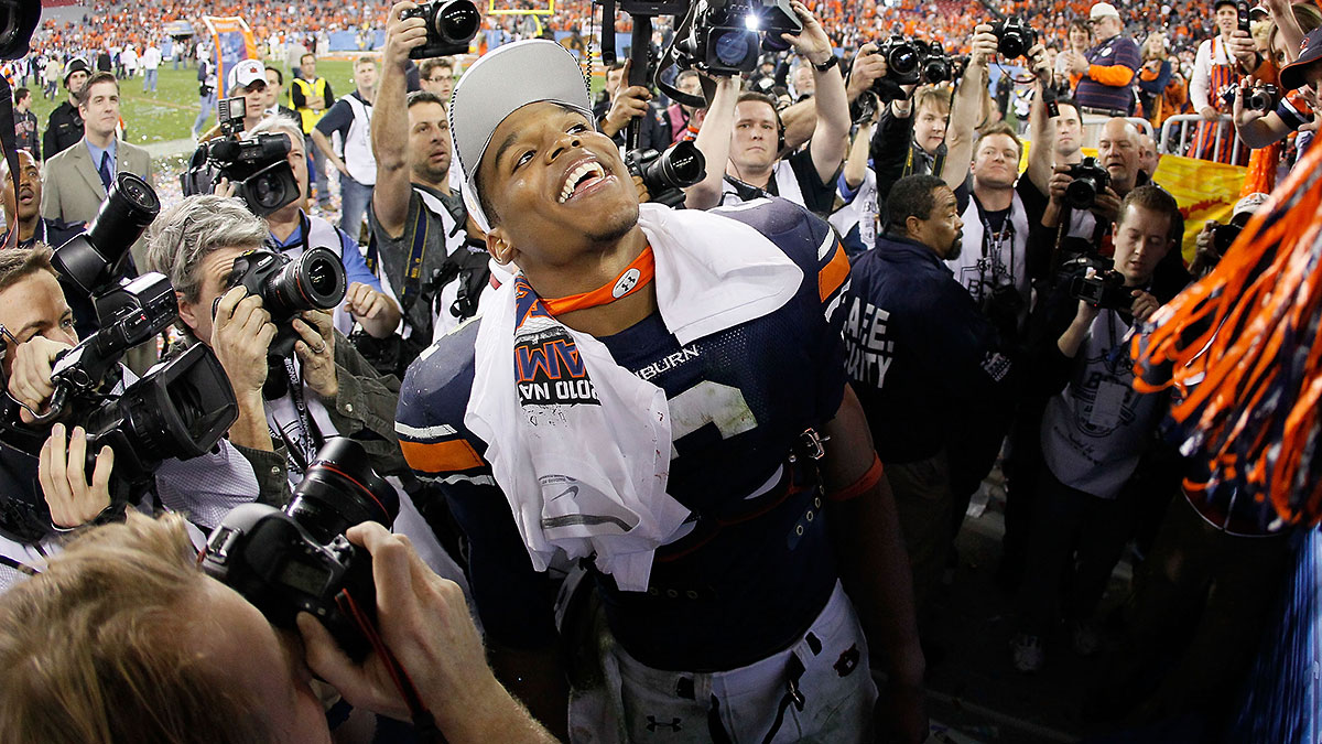 Cam Newton led Auburn to the national championship in his first year as an FBS starter.