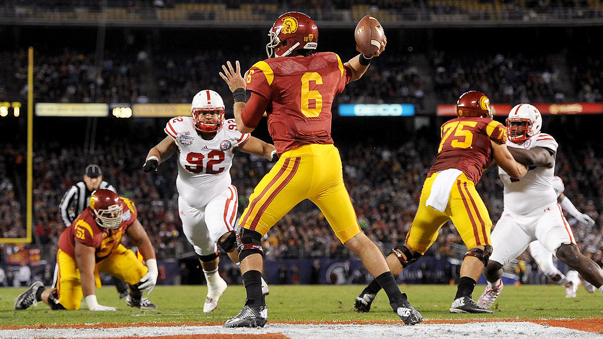 The media picked Kessler's USC squad as the preseason Pac-12 favorite, but Stanford, Oregon, UCLA, and other teams will be provide fierce competition. (Donald Miralle/Getty Images)
