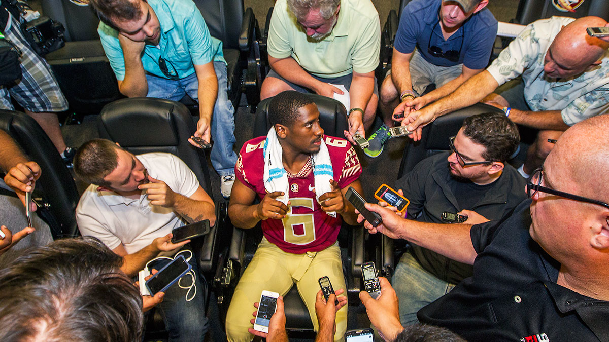 Notre Dame transfer Everett Golson seems like a shoo-in for the Florida State QB job.