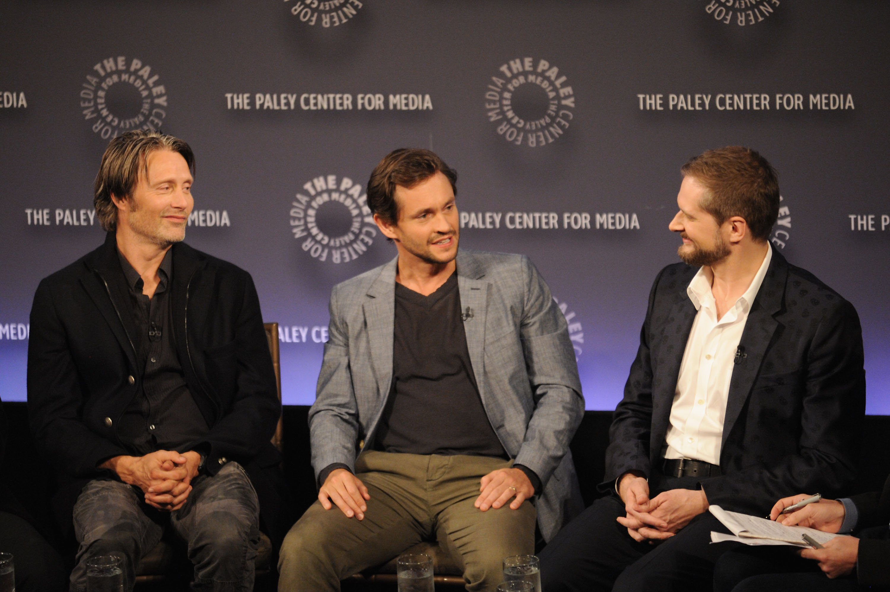 Mikkelsen, Dancy, and Fuller at Paley Fest this year.