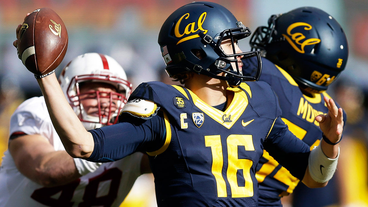 Jarred Goff and the Golden Bears crossed the 40-point mark six times in 2014.