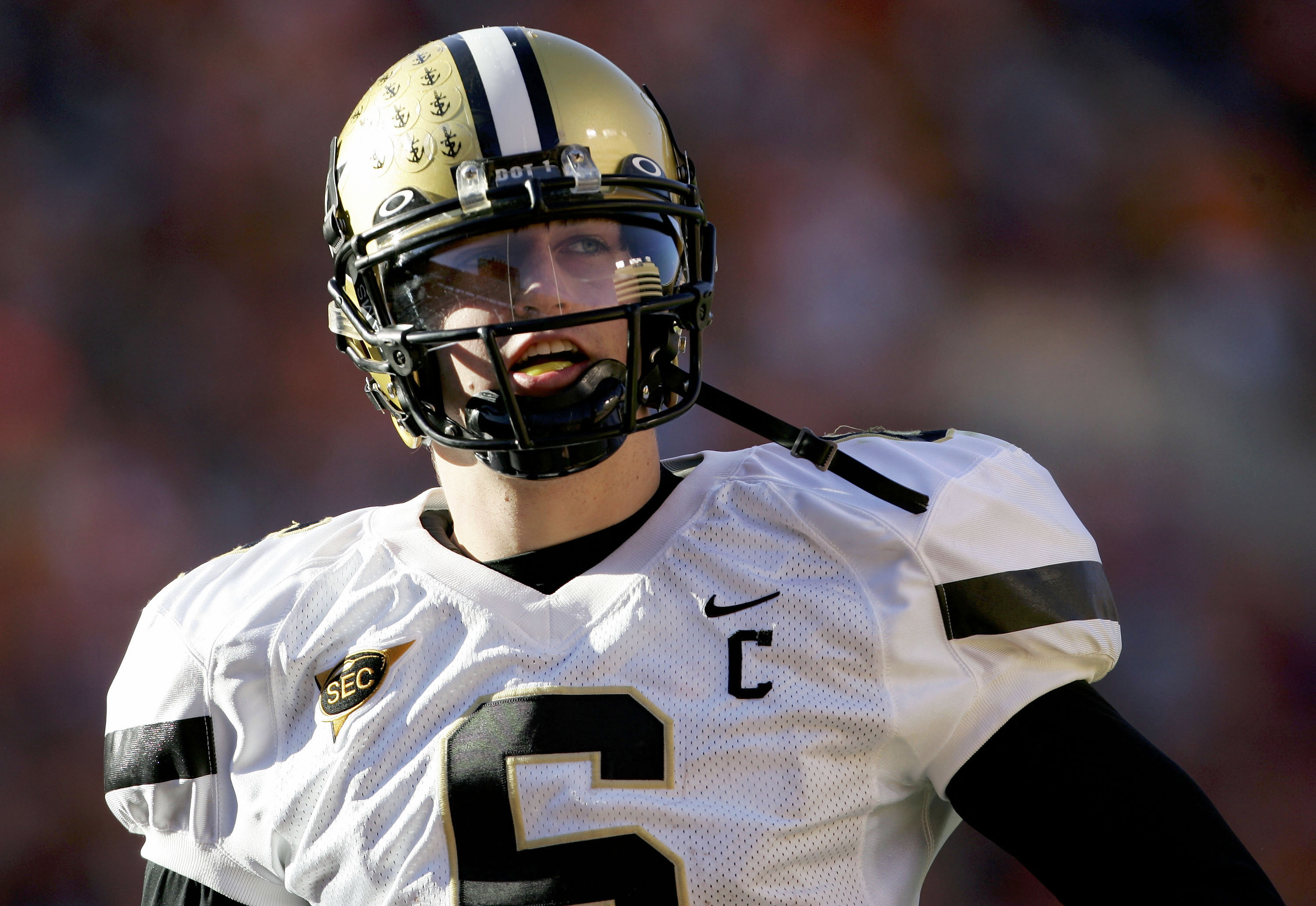 Cutler at Vanderbilt in 2005.