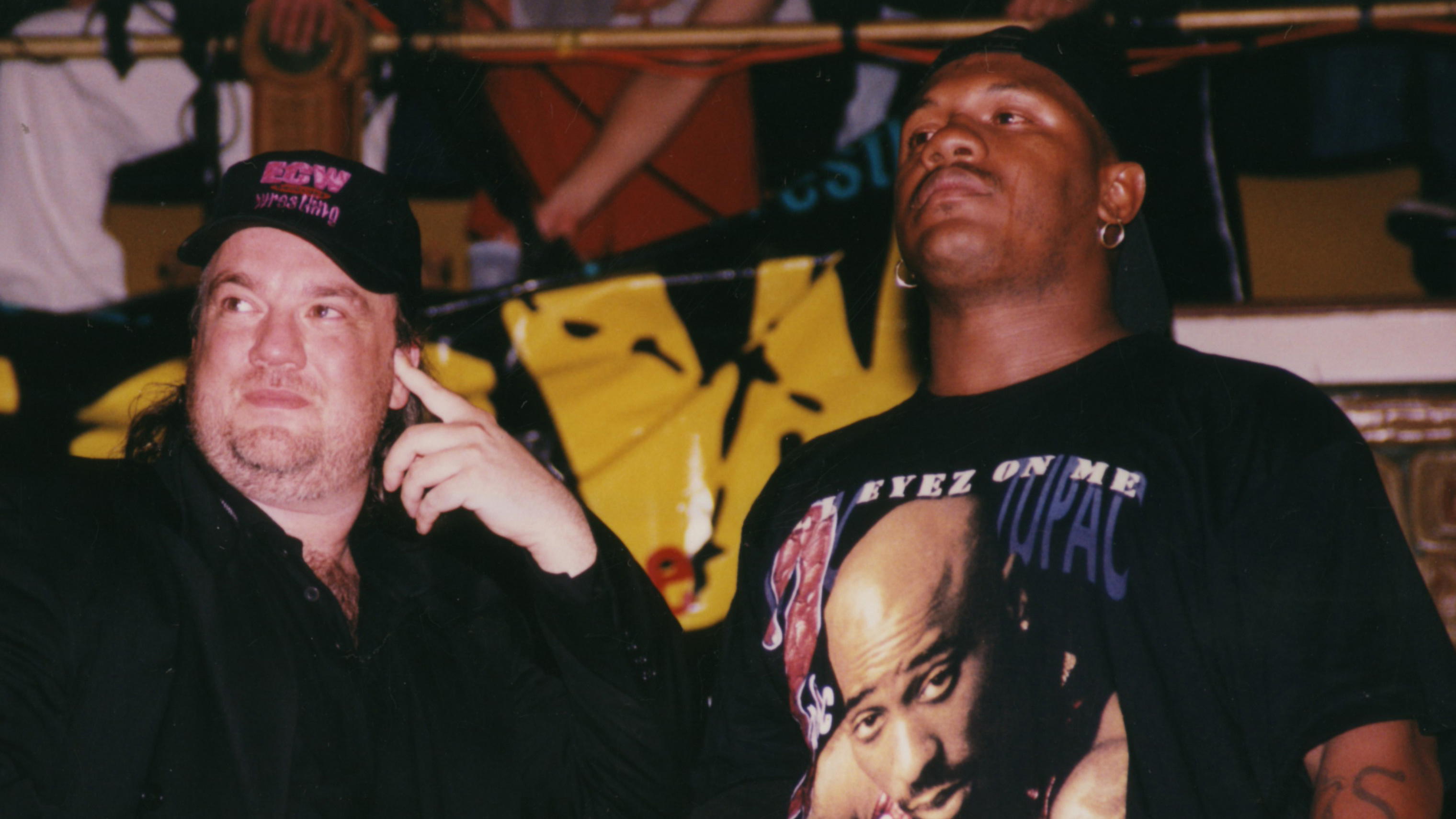 Heyman with New Jack in ECW.