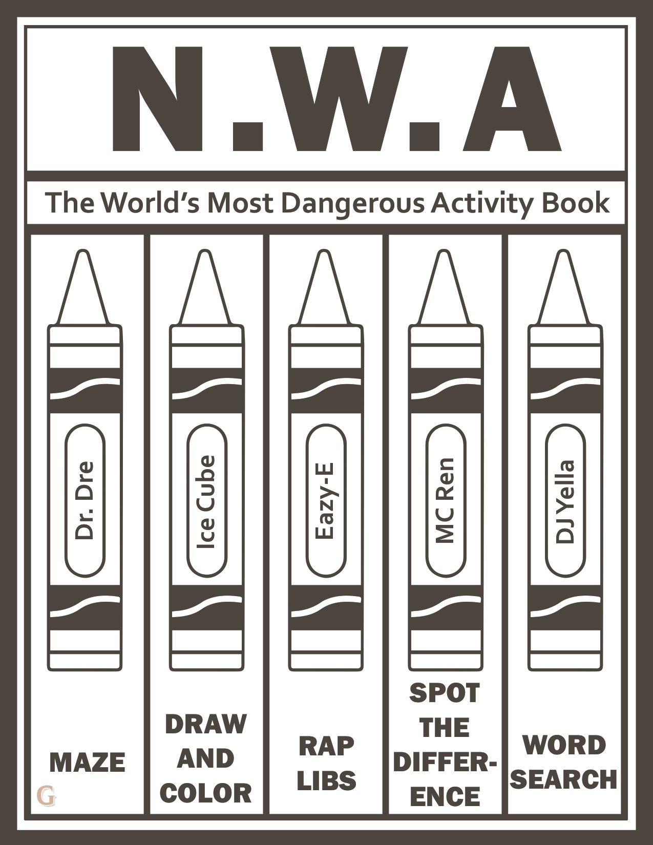 NWA Book Cover