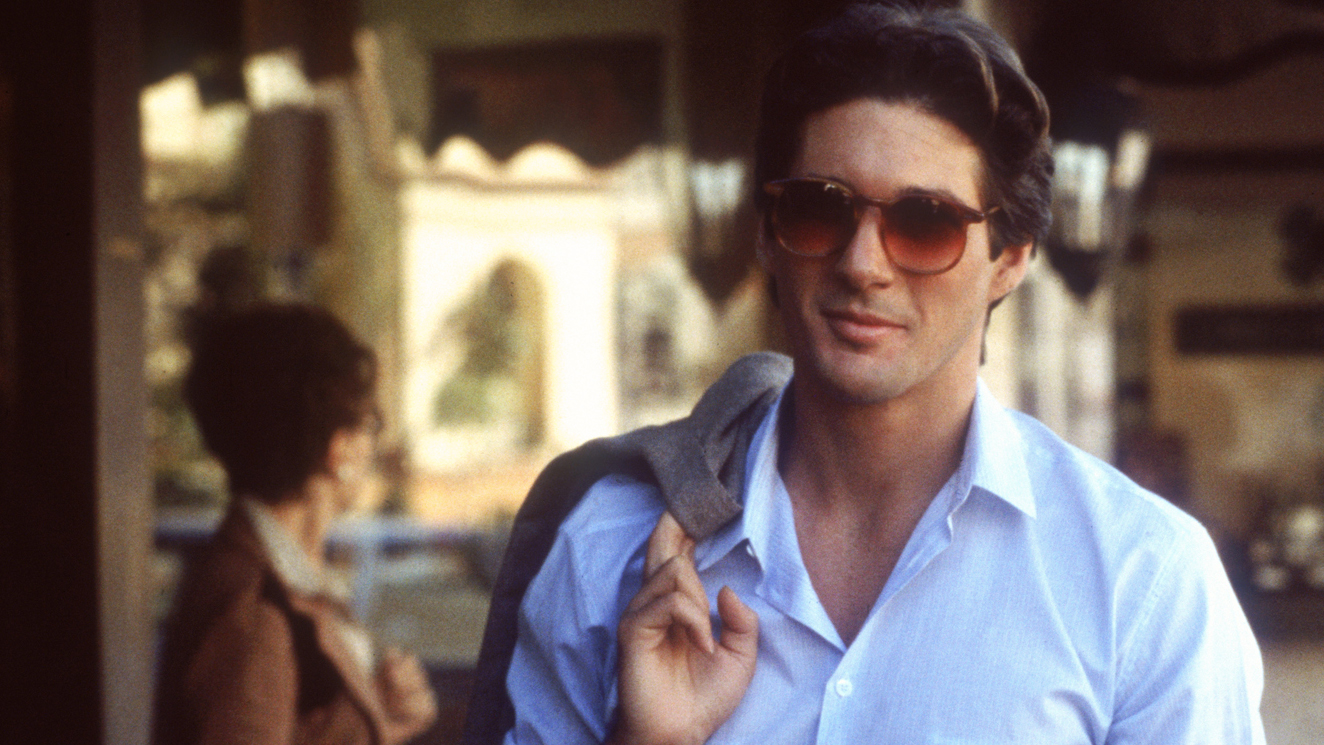Gere in 'American Gigolo' from 1980.
