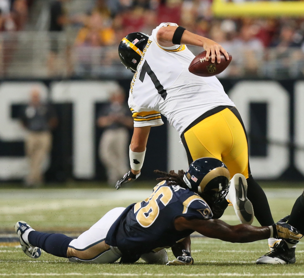 Pittsburgh Steelers at St. Louis Rams