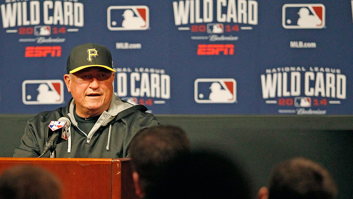 Pirates manager Clint Hurdle is no stranger to the NL Wild Card Game.