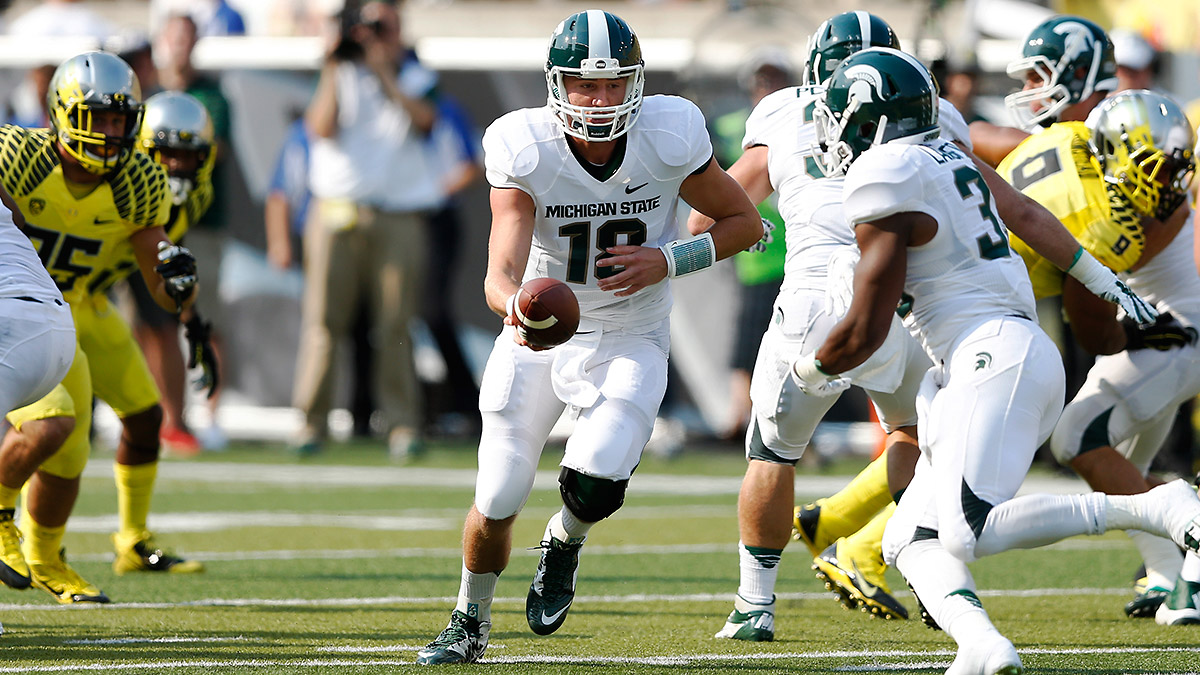 Today The Ducks Tomorrow The World Michigan State Puts Its