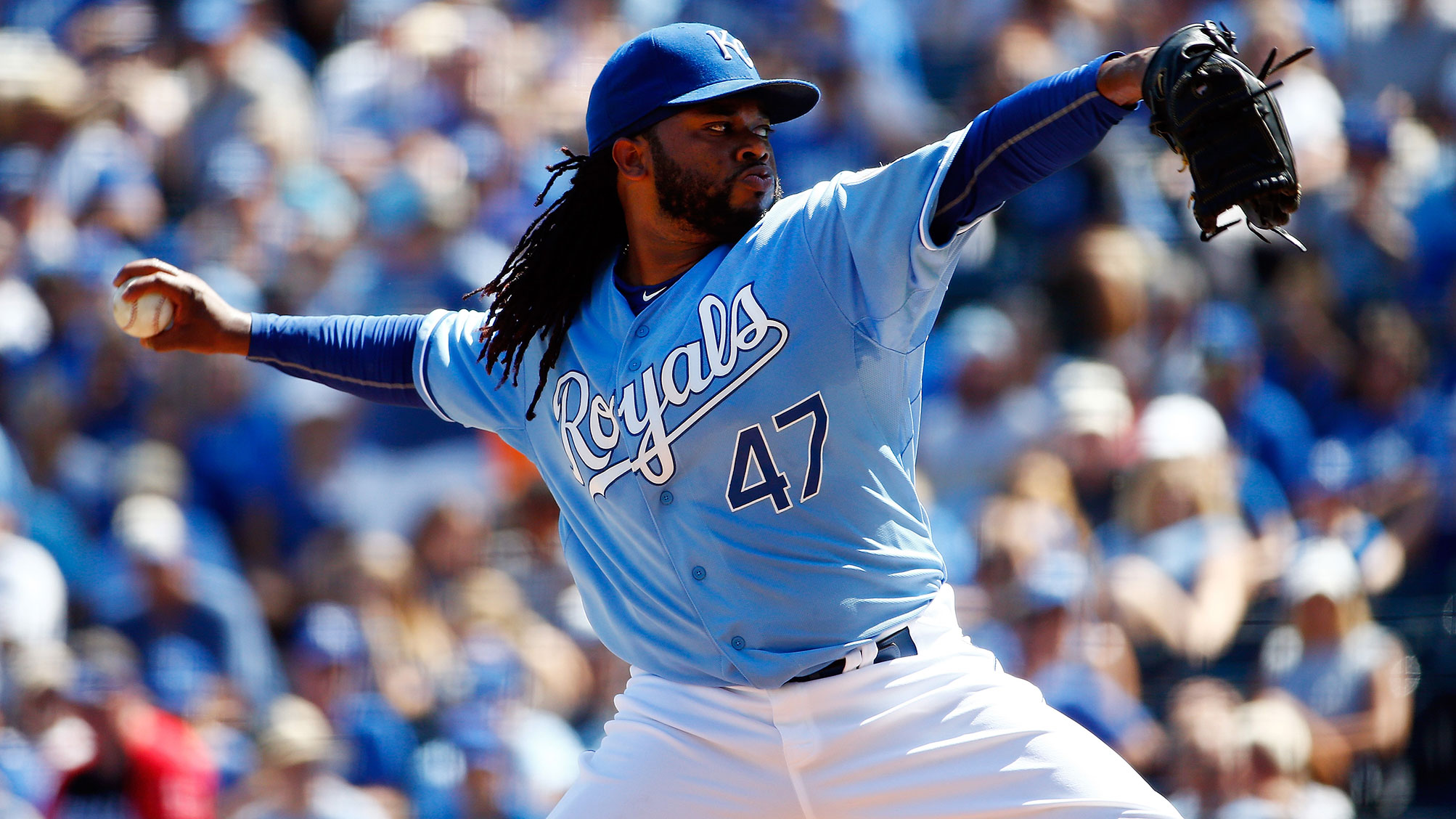 Johnny Cueto has struggled for the Royals, but K.C. might have enough to advance anyway.